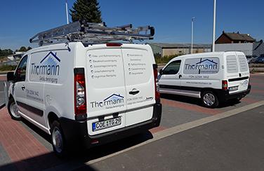 Fahrzeuge der Gebäudereinigung Dülmen Michael Thormann