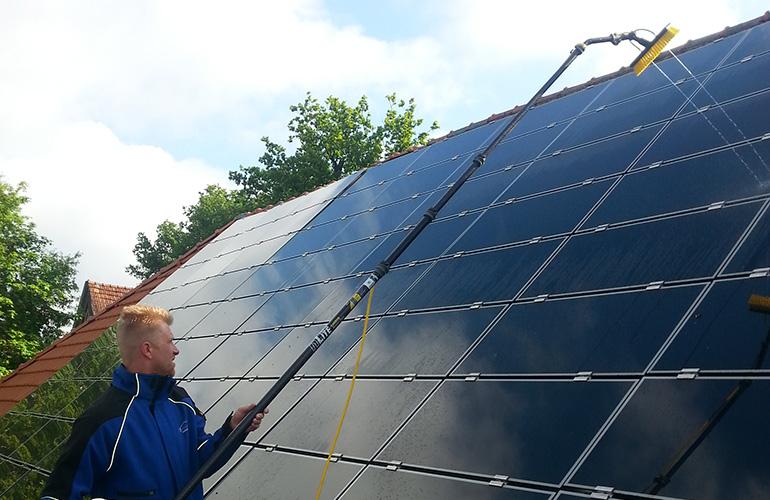 Solaranlagen Reinigung